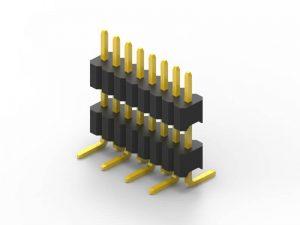 1.27mm Header Single Row SMT Series A