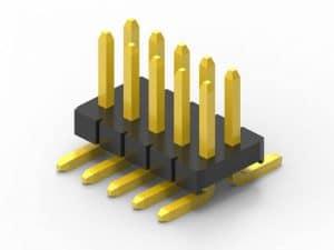 1.27mm smd pin header dual row