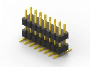 2.0mm Header Dual Row SMD