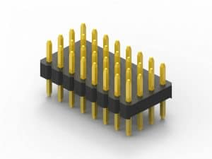 2.0mm quad row pin header
