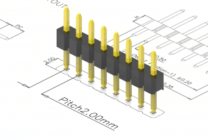 2.0mm pitch pin header