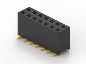 2mm smd female header dual row