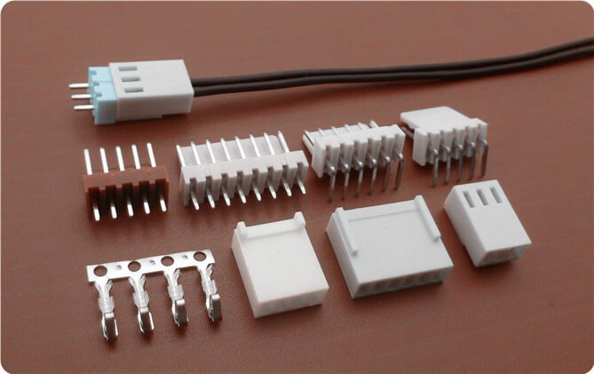 kk254 2 54mm pitch wire to board connectors scondar custom wire harness