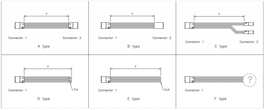 Molex SL Modular Connectors Cable Assemblies